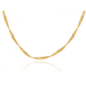 0.25mm Singapore Chain in 9ct Gold