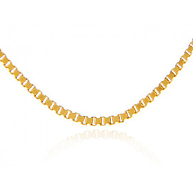 0.67mm Box Chain in 9ct Gold