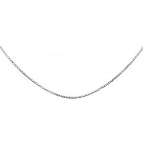 1.2mm Italian Box Link Chain in Sterling Silver