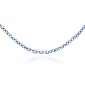 1.38mm Rolo Chain in 9ct White Gold