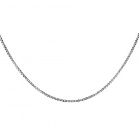 1.8mm Italian Box Link Chain in Sterling Silver