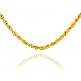 2.5mm Rope Chain in 9ct Gold