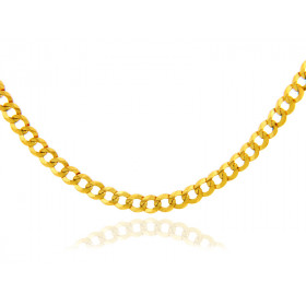 2.65mm Cuban Chain in 9ct Gold