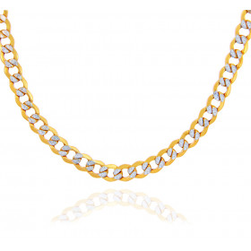 4.78mm Cuban Chain in 9ct Gold