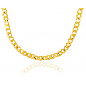 6.37mm Cuban Chain in 9ct Gold