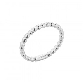 Ball Bead Toe Ring in 9ct White Gold