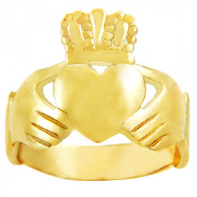 Classic Claddagh Ring in 9ct Gold