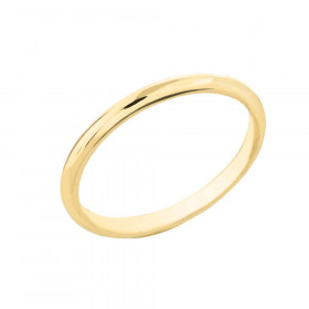 Classic Plain Wedding Ring in 9ct Gold