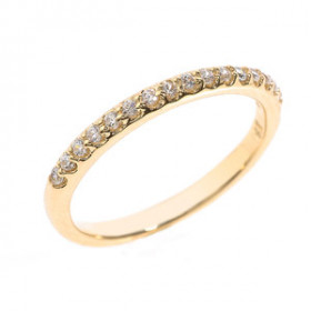 Diamond Half Eternity Wedding Ring in 9ct Gold