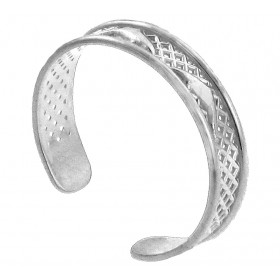 Dolphin Toe Ring in 9ct White Gold
