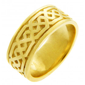 Knot Band in 9ct Gold