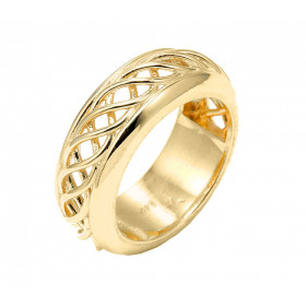Knot Wedding Ring in 9ct Gold