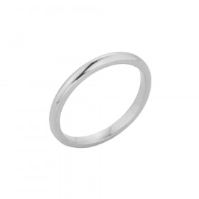 Knuckle Ring in 9ct White Gold