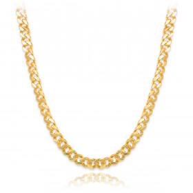 Men's 10mm Cuban Chain in 9ct Gold