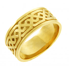 Men's Knot Band in 9ct Gold