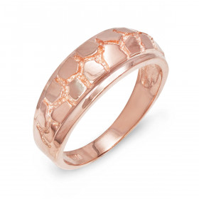 Men's Ring in 9ct Rose Gold