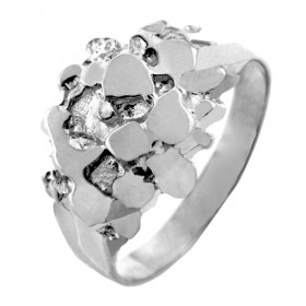 Men's Stoic Ring in Sterling Silver