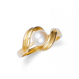 Pearl Ring in 9ct Gold