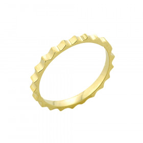 Spiked Knuckle Ring in 9ct Gold