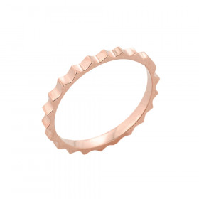 Spiked Knuckle Ring in 9ct Rose Gold