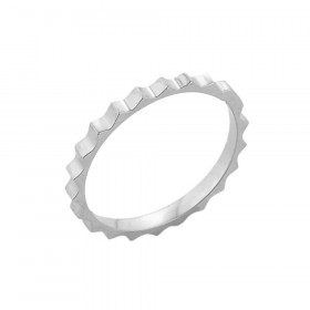 Spiked Knuckle Ring in 9ct White Gold
