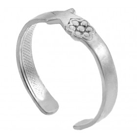Star Toe Ring in 9ct White Gold
