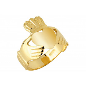 Traditional Claddagh Ring in 9ct Gold