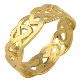 Trinity Knot Ring in 9ct Gold