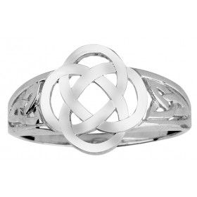 Trinity Ring in Sterling Silver