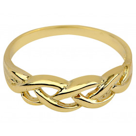 Trinity Weave Ring in 9ct Gold