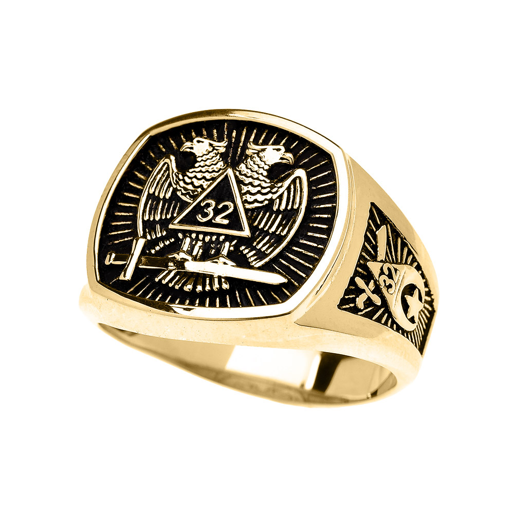 hip cool out iced pin stainless men gold bling steel ring crystal hop color freemason rings masonic