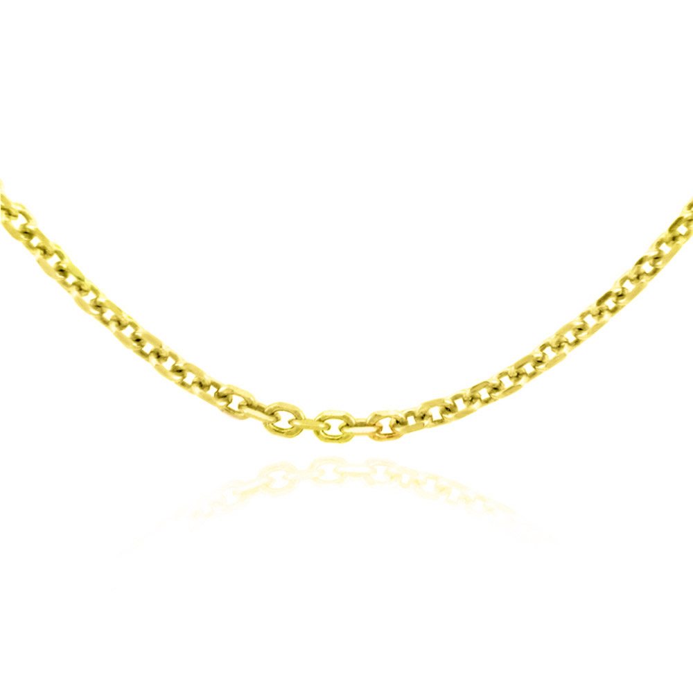 1.38mm Rolo Chain in 14K Gold