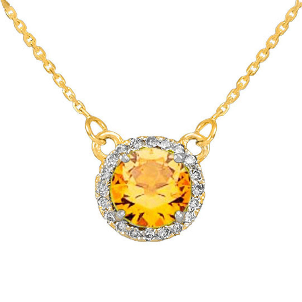 10ct citrine and diamond pendant necklace in 9ct gold gold boutique gb57891y 738 instock httpsgoldboutiquecitrine diamond pendant necklace in gold gb57891y gold boutique aloadofball Image collections