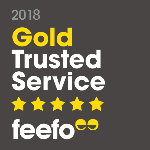 Gold Trusted Service: Feefo