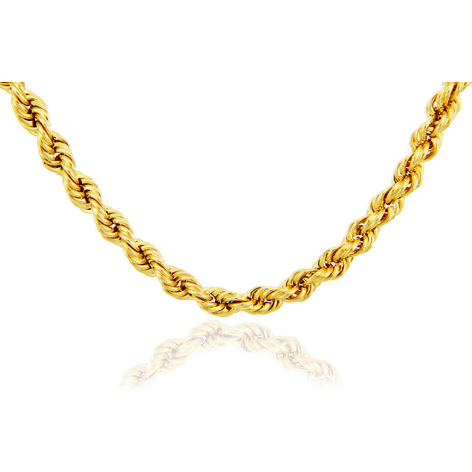 2mm Rope Chain in 9ct Gold
