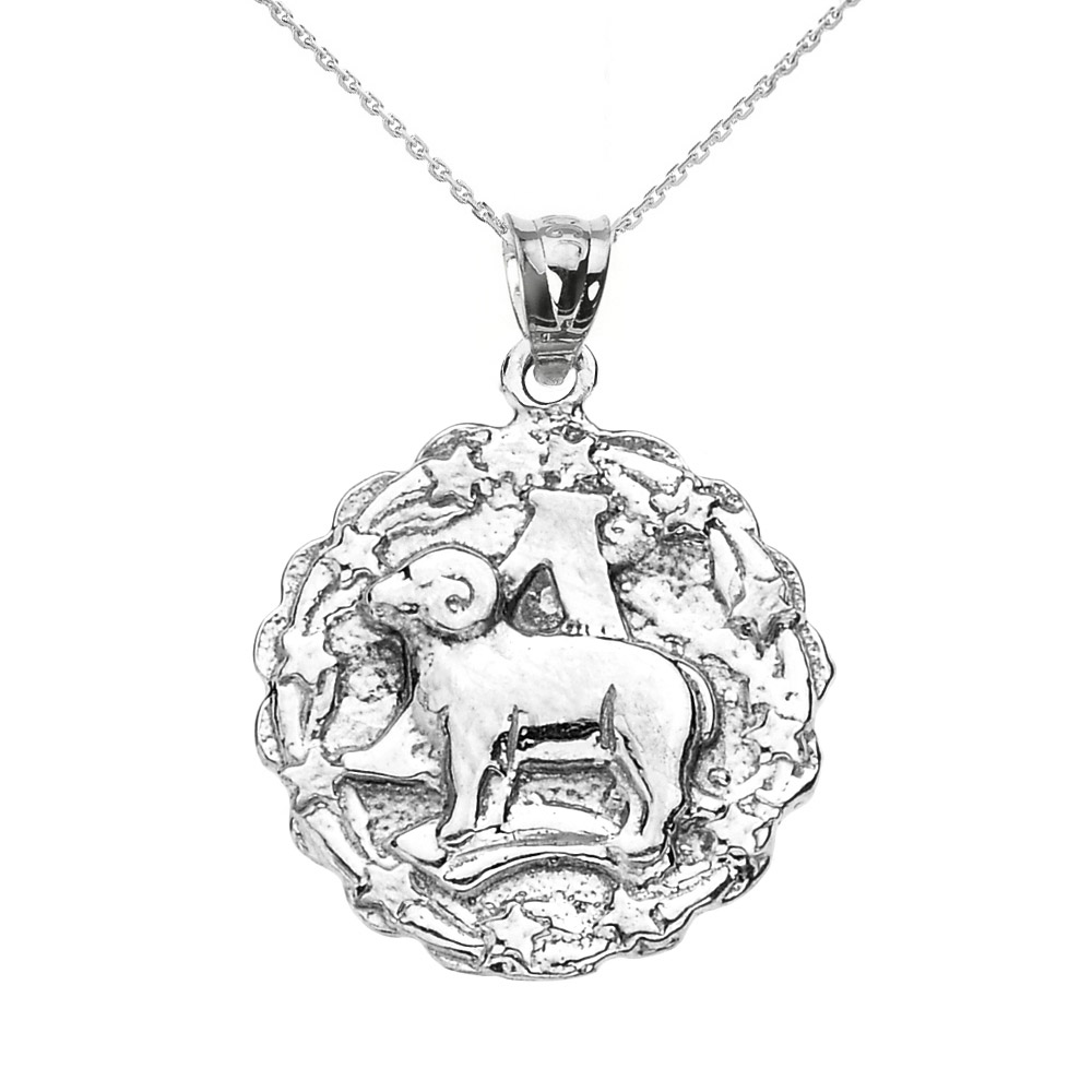 Aries Star Sign Zodiac Jewellery