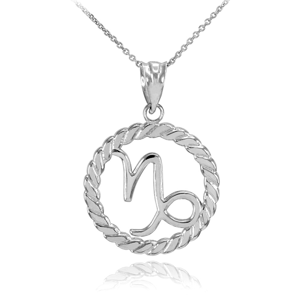 Capricorn Star Sign Zodiac Jewellery
