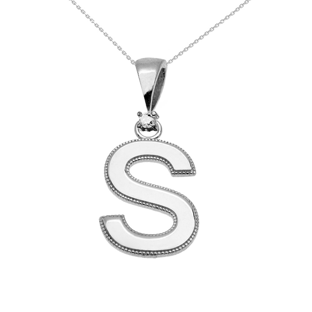 necklace selected s pendant letter charlotte geometrical products bonde