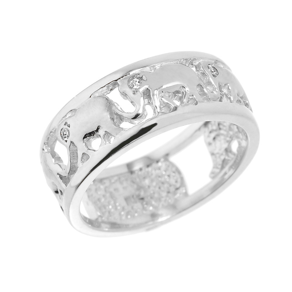 elephant orders silver free shipping journee sterling rings collection on jewelry overstock product over watches ring engagement
