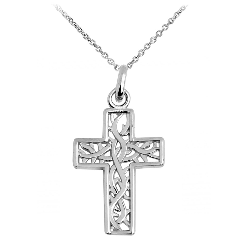 Irish trinity pendant necklace in sterling silver gold boutique aloadofball Gallery