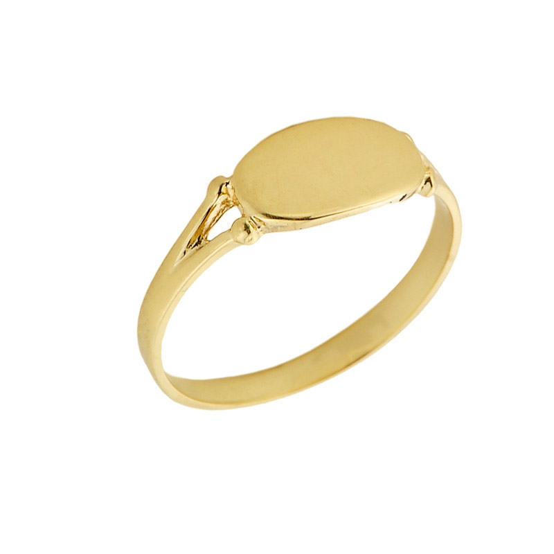 Men's Signet Ring in 9ct Gold
