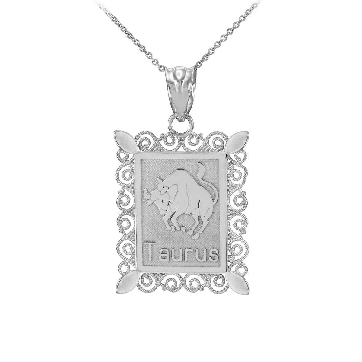 Taurus Star Sign Zodiac Jewellery
