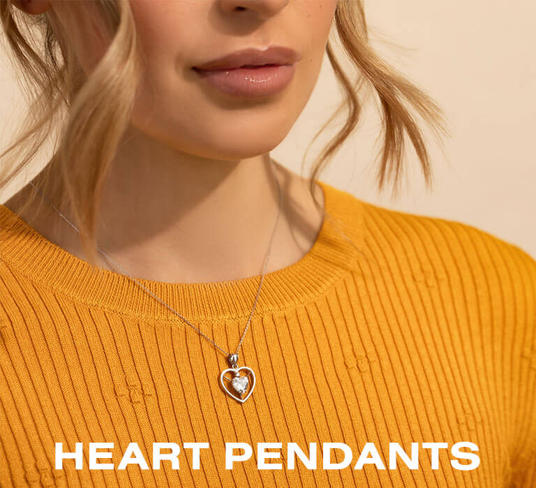 Heart Pendant Necklace Jewellery