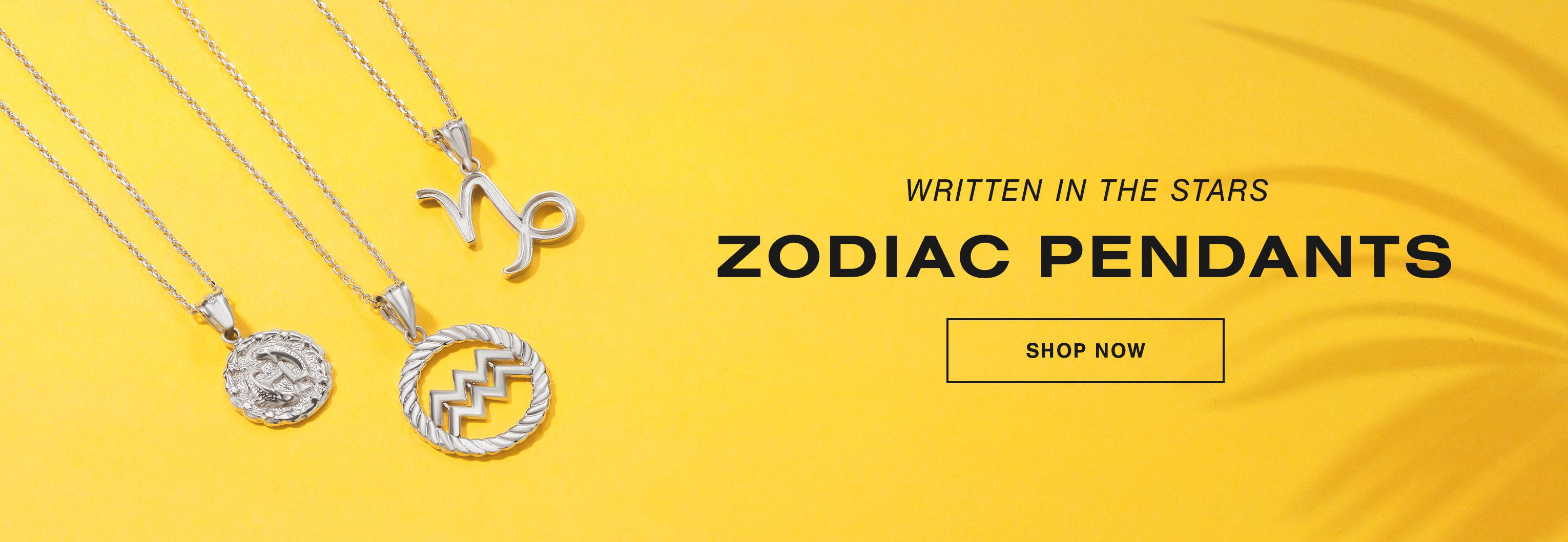 Zodiac Pendants - Shop Now
