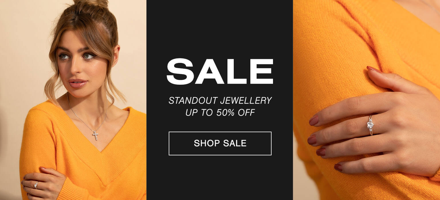 Sale - Standout jewellery at up to 50% off