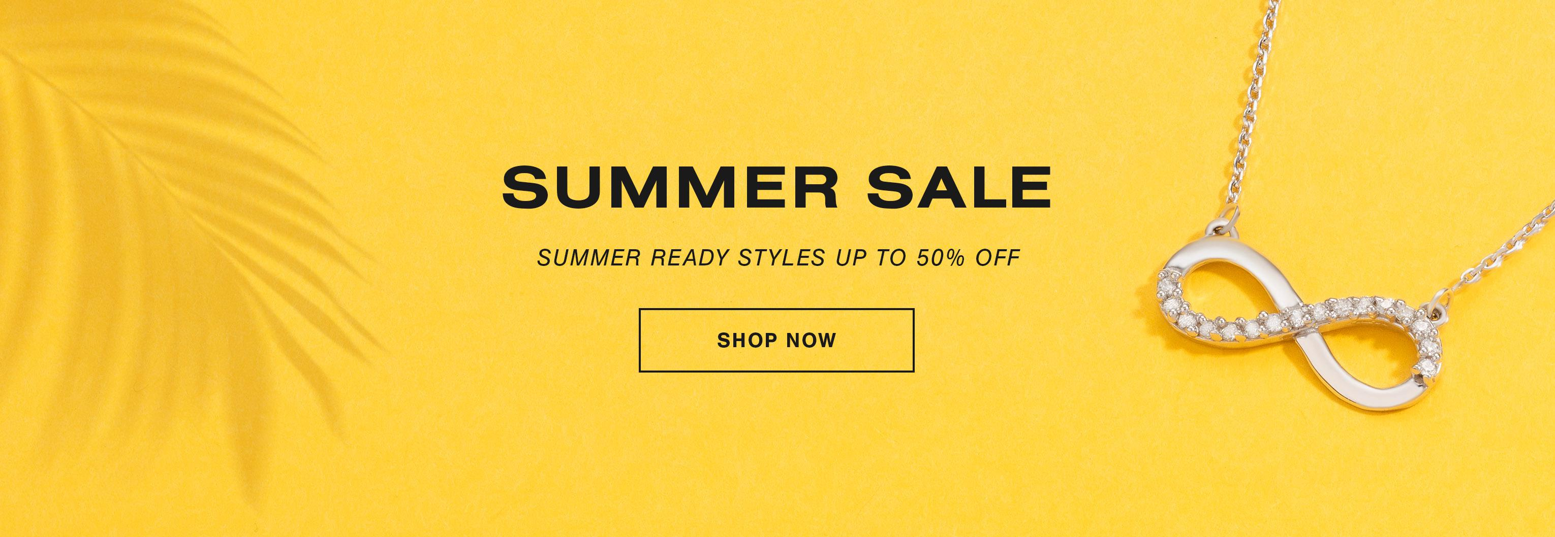 Summer Sale: Up To 50% Off - Shop Now