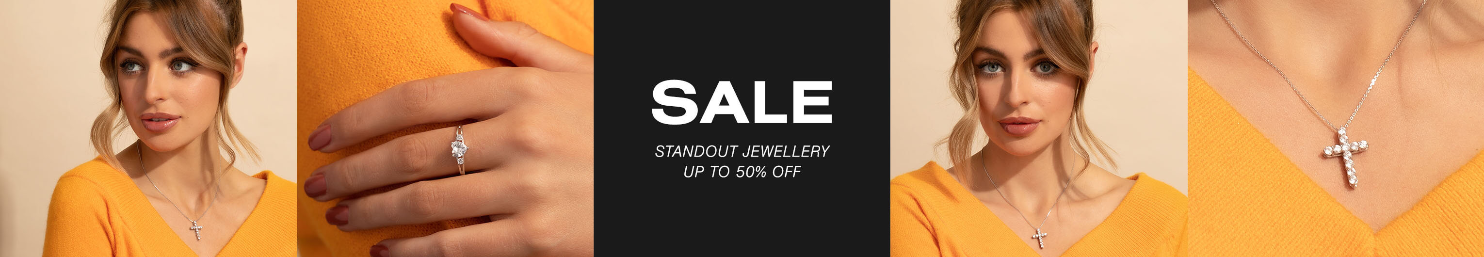 Sale: Up to 50% OffSale: Standout Jewellery - Up to 50% off
