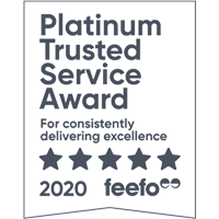 Platinum Trusted Service: Feefo